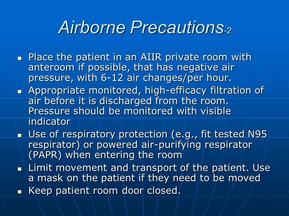 Airborne Precautions-2