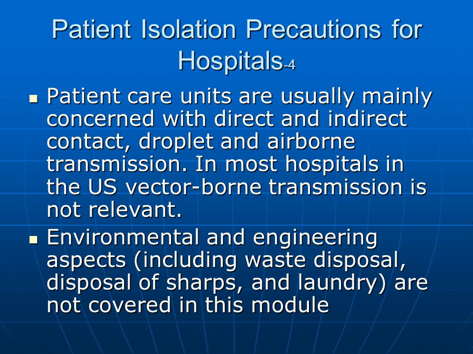 Patient Isolation Precautions for Hospitals-4