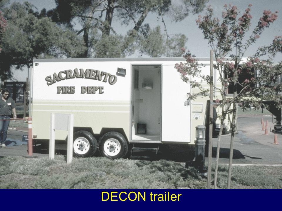 DECON trailer