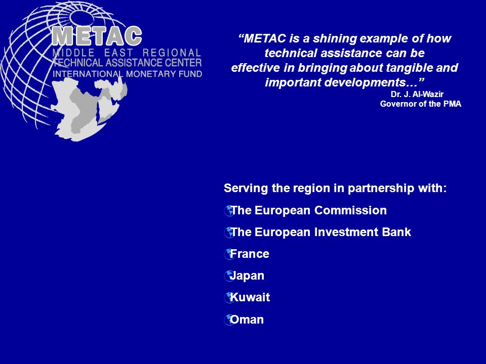 METAC is a shining example of how technical assistance can be