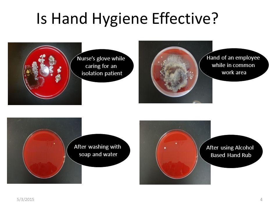 Is Hand Hygiene Effective