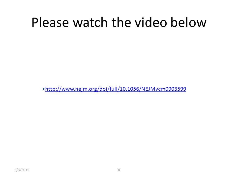 Please watch the video below