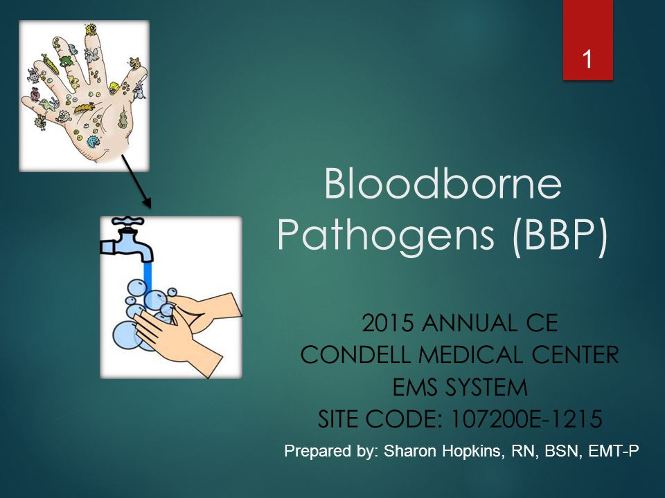 Bloodborne Pathogens (BBP)