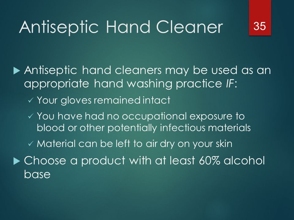 Antiseptic Hand Cleaner
