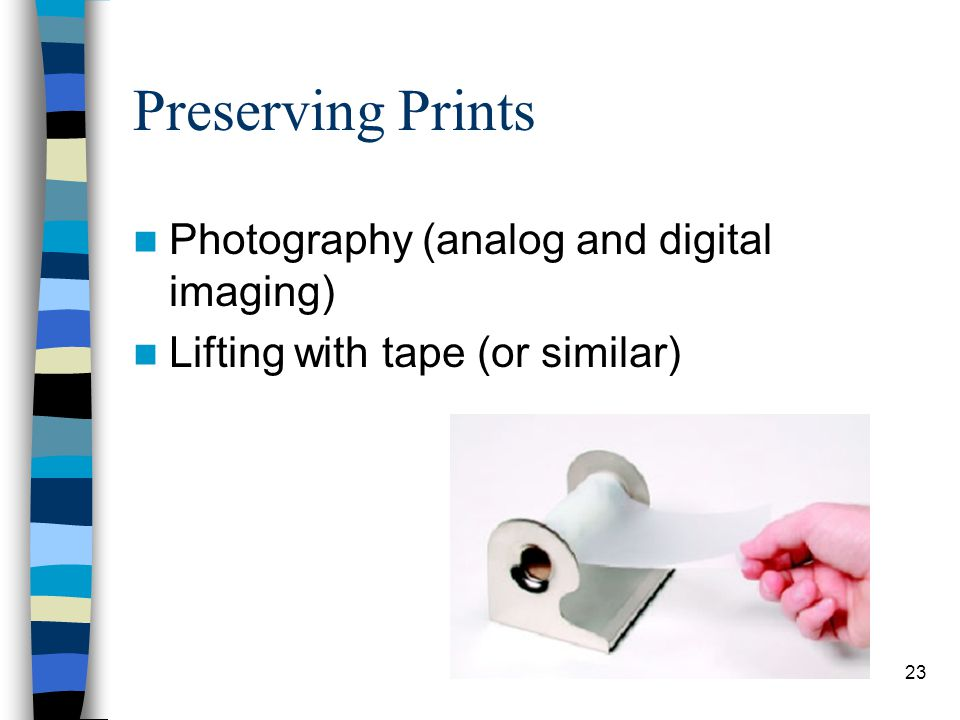 Preserving Prints Photography (analog and digital imaging)