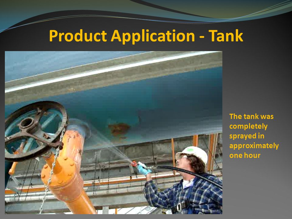 Product Application - Tank