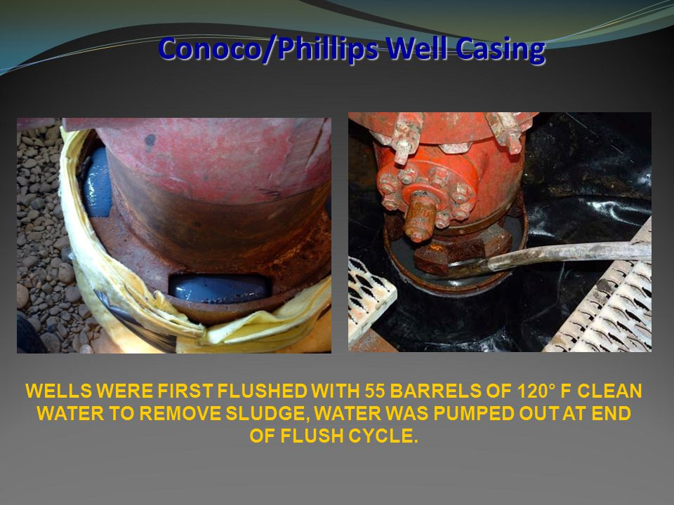 Conoco/Phillips Well Casing