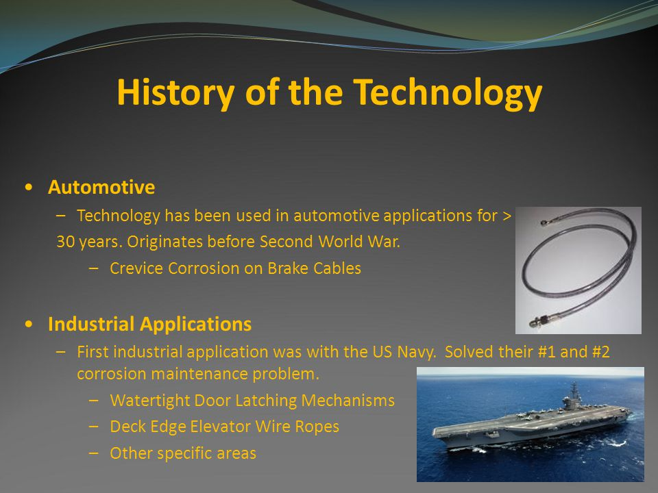 History of the Technology