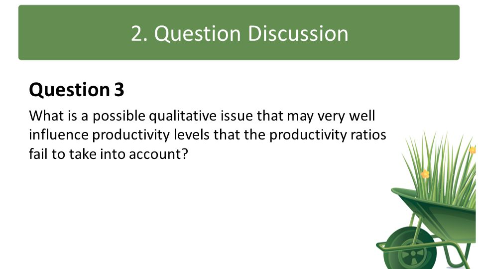 2. Question Discussion Question 3