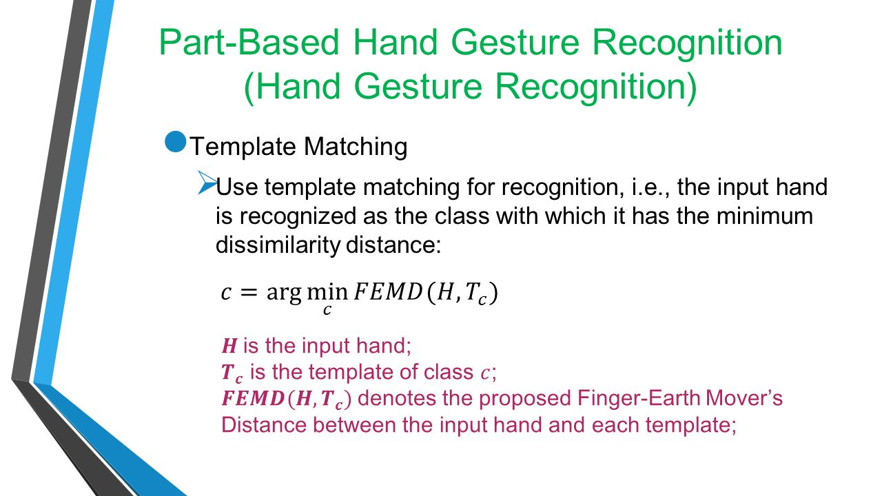 Part-Based Hand Gesture Recognition (Hand Gesture Recognition)