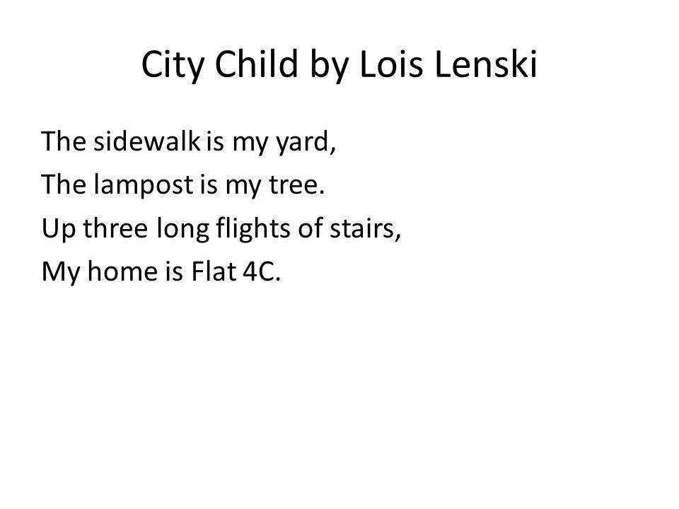 City Child by Lois Lenski