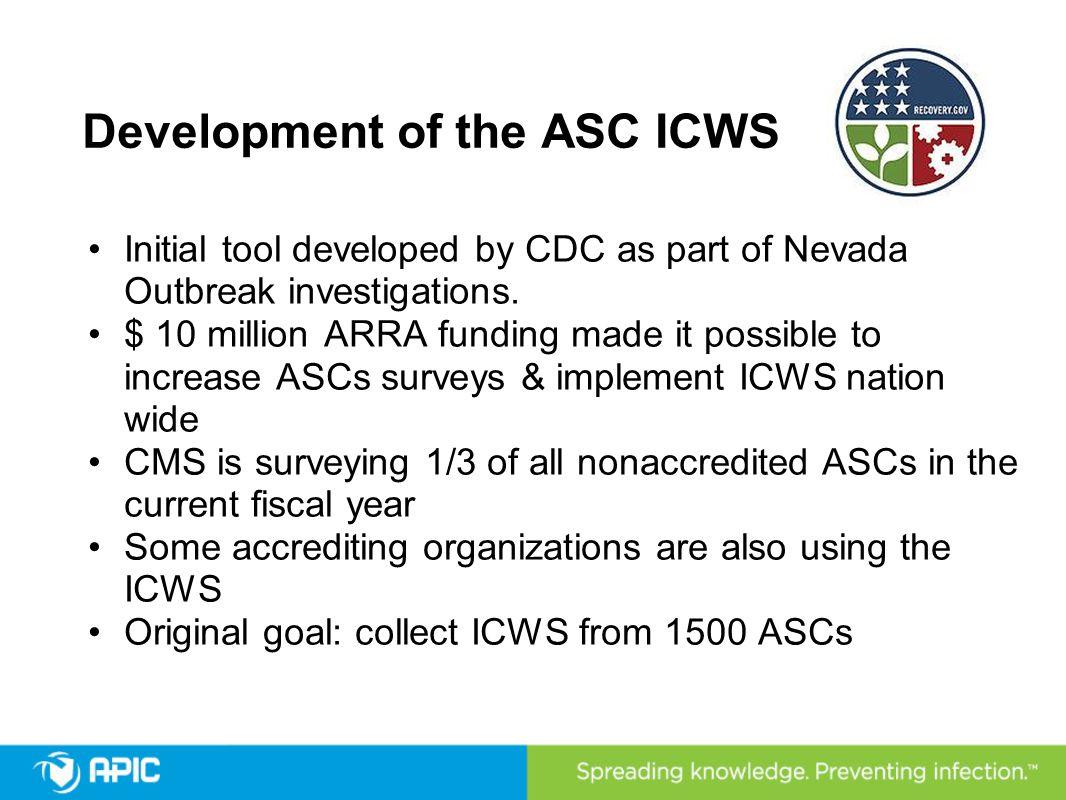Development of the ASC ICWS