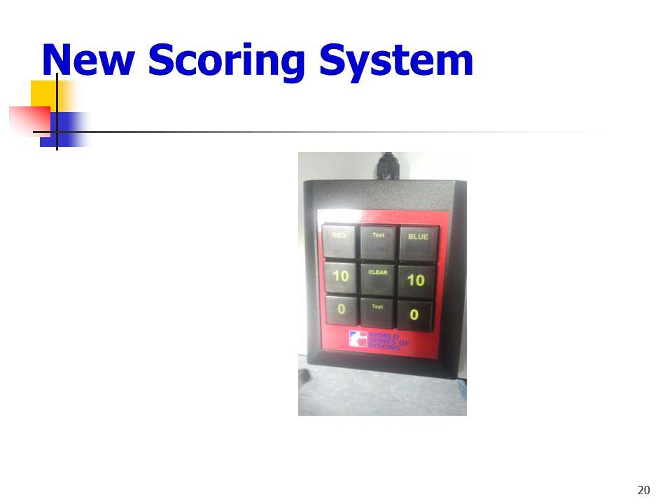 New Scoring System 20