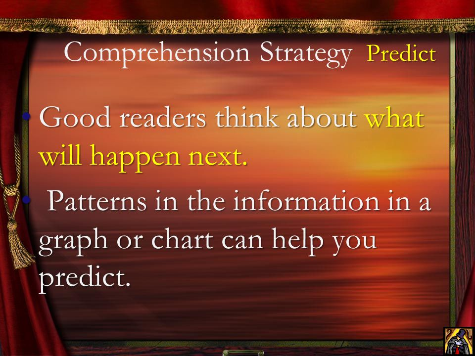 Comprehension Strategy Predict