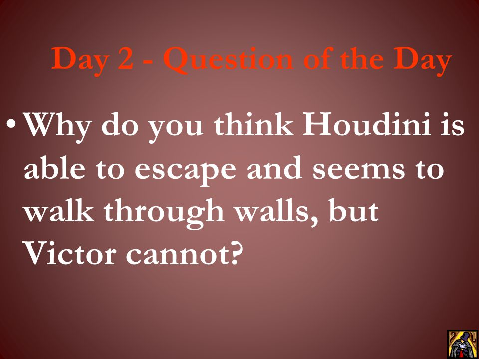 Day 2 - Question of the Day