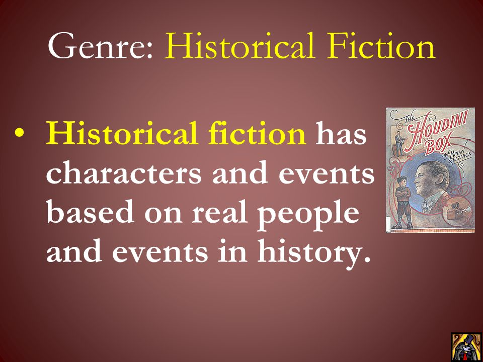 Genre: Historical Fiction