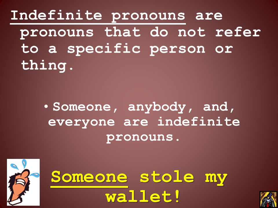 Someone stole my wallet!