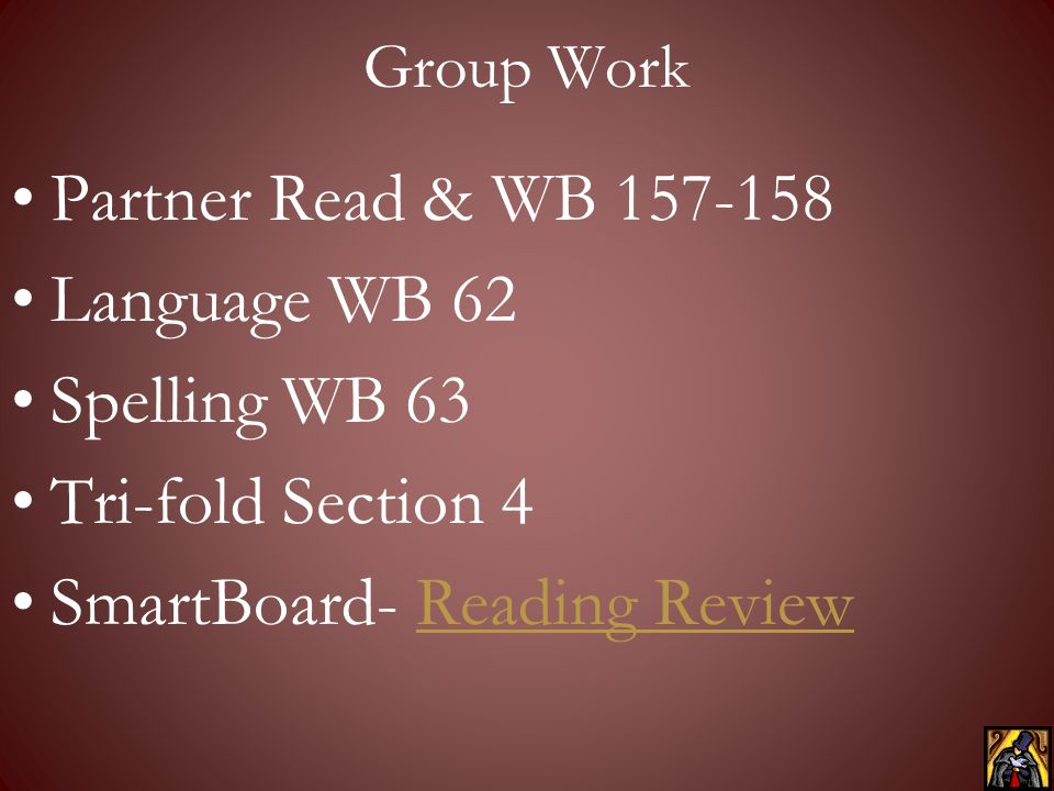 SmartBoard- Reading Review