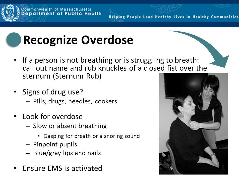 Recognize Overdose
