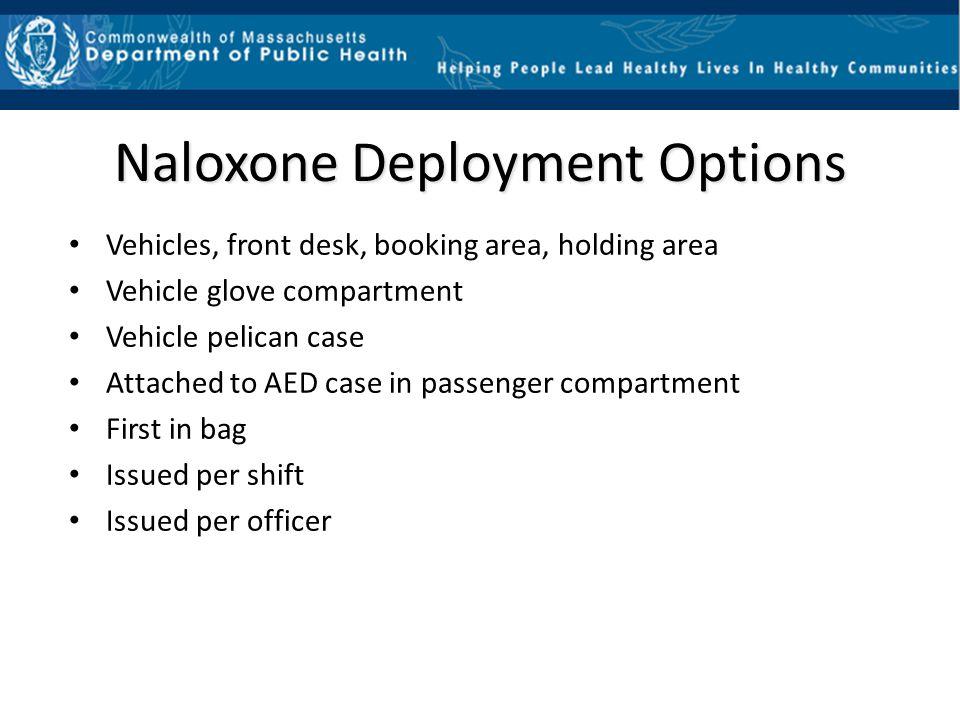 Naloxone Deployment Options