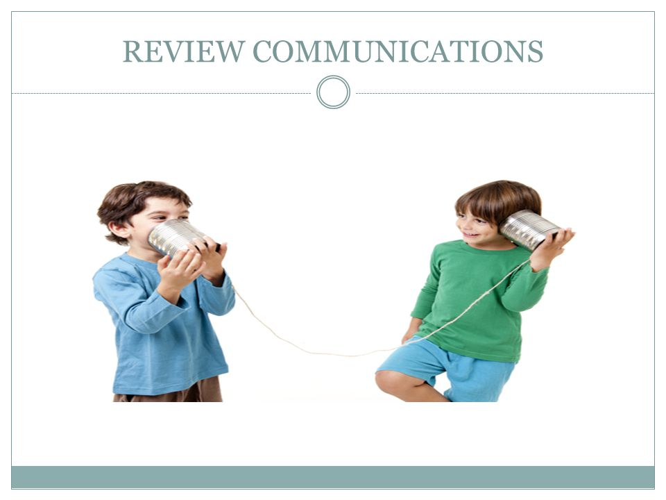 REVIEW COMMUNICATIONS