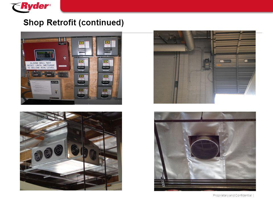 Shop Retrofit (continued)