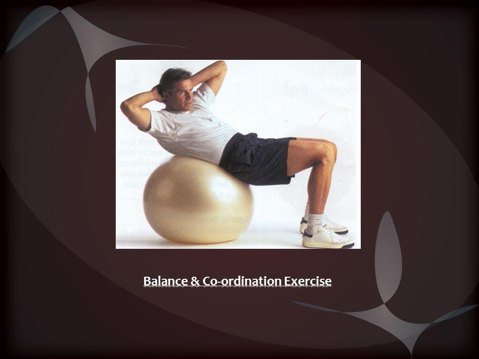 Balance & Co-ordination Exercise