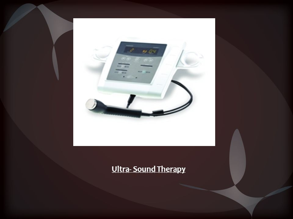 Ultra- Sound Therapy
