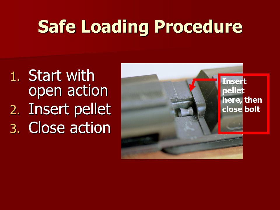 Safe Loading Procedure
