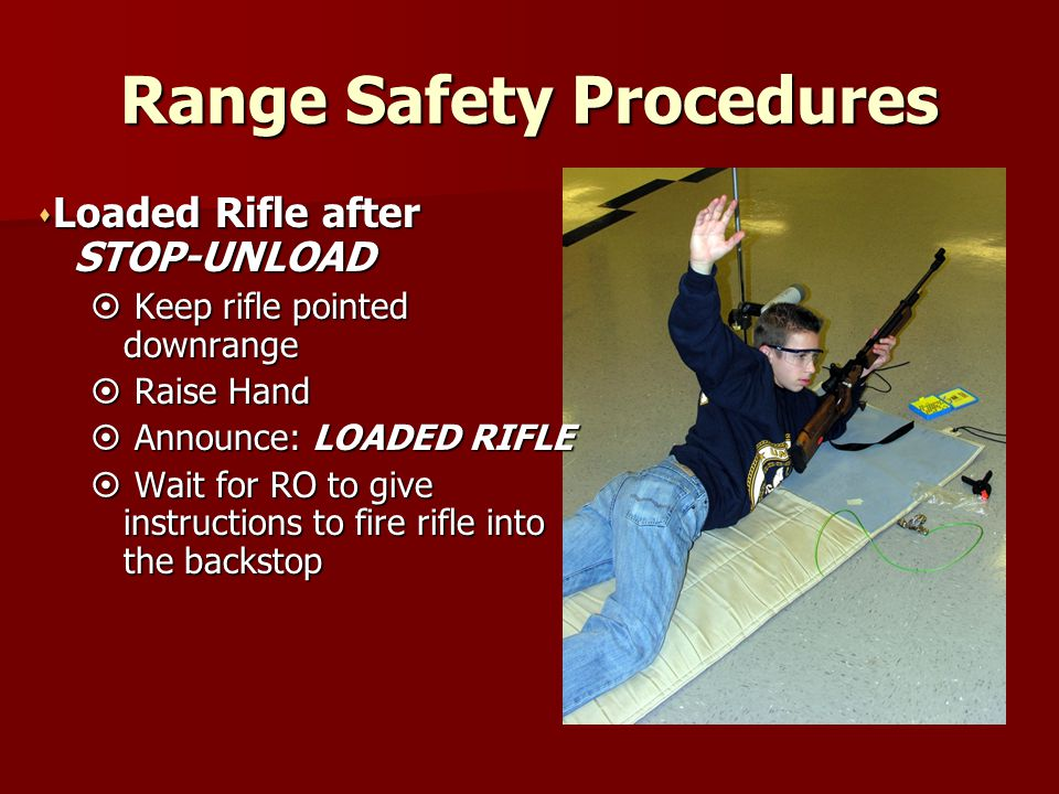 Range Safety Procedures