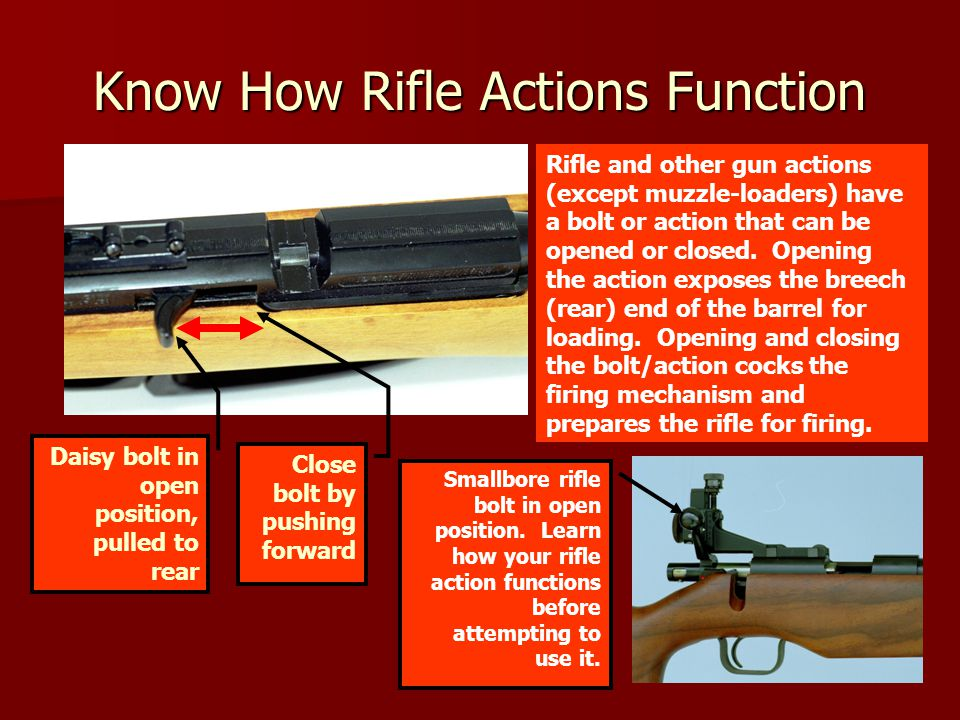 Know How Rifle Actions Function