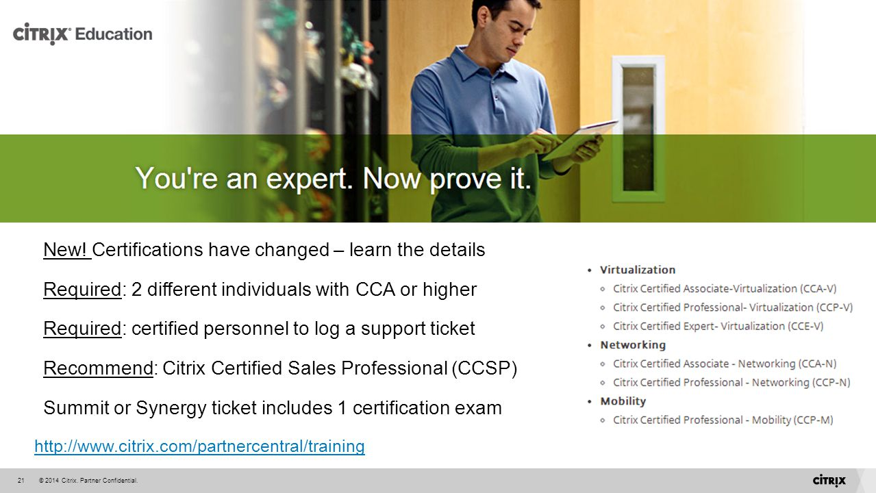 New! Certifications have changed – learn the details