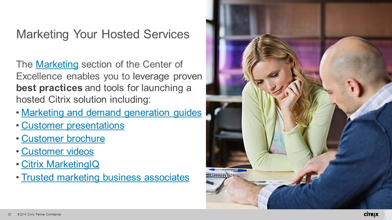 Marketing Your Hosted Services