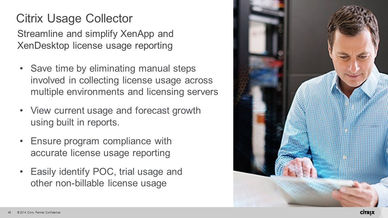 Citrix Usage Collector