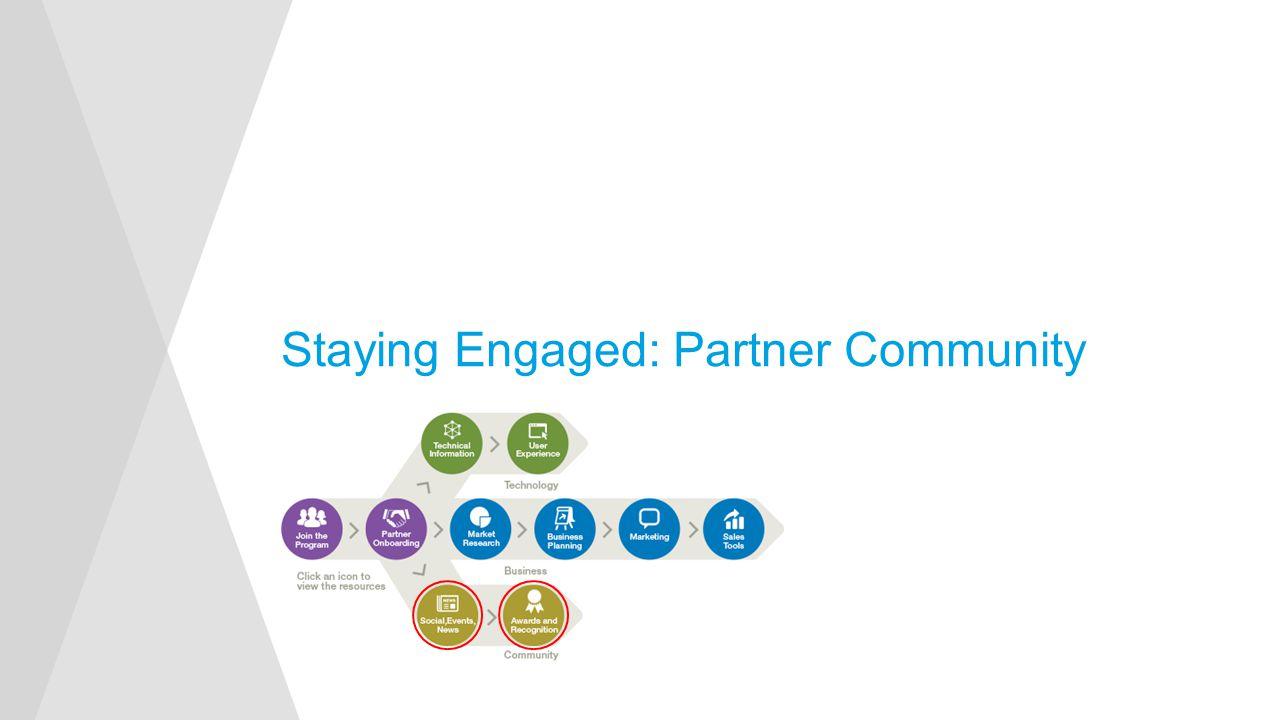 Staying Engaged: Partner Community