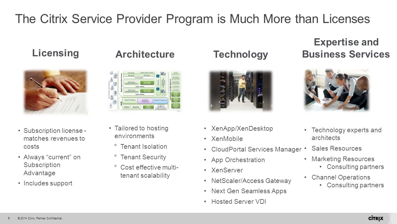 The Citrix Service Provider Program is Much More than Licenses
