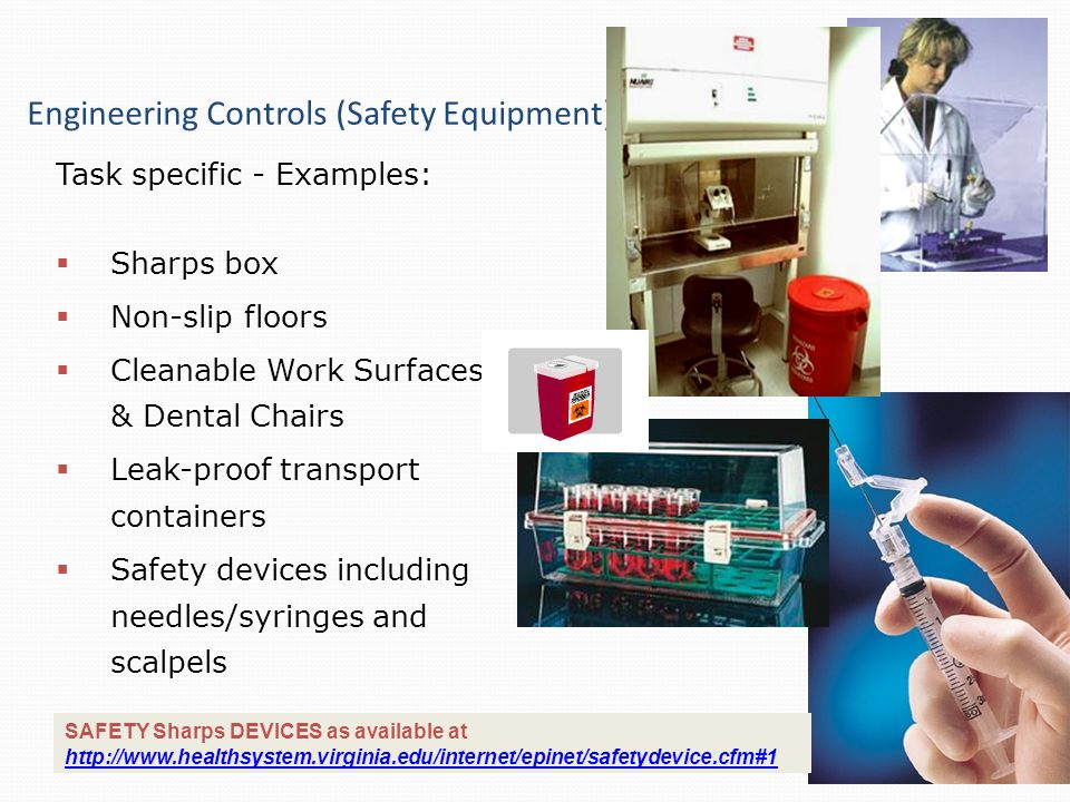 Engineering Controls (Safety Equipment)