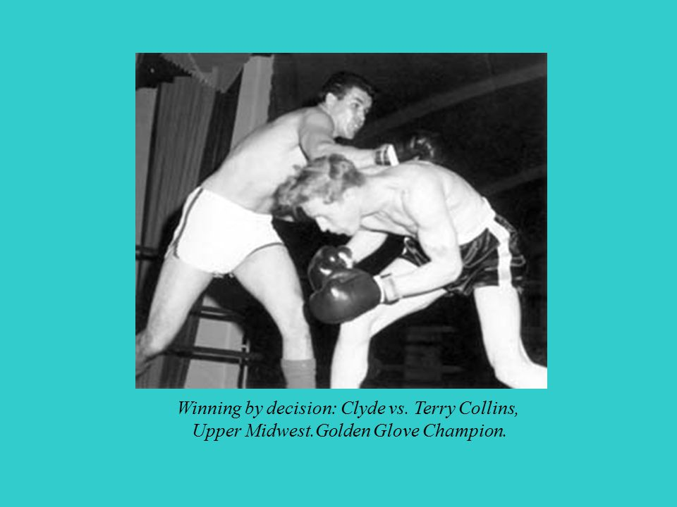 Winning by decision: Clyde vs. Terry Collins,