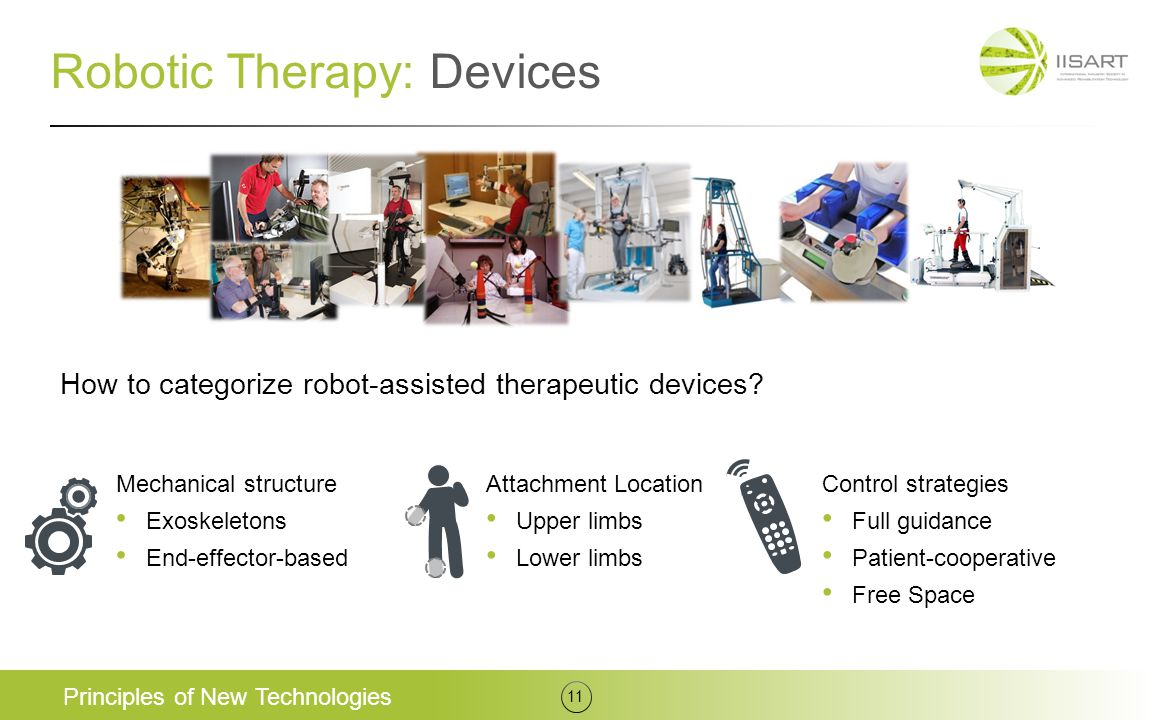 Robotic Therapy: Devices