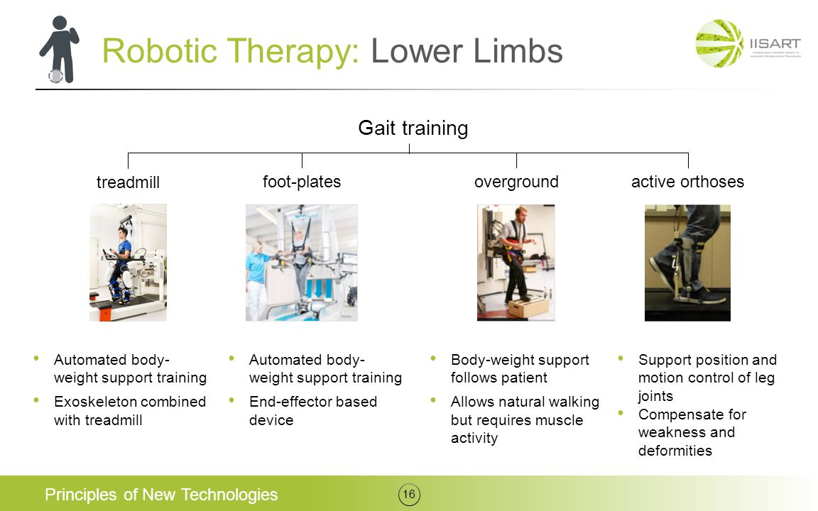 Robotic Therapy: Lower Limbs