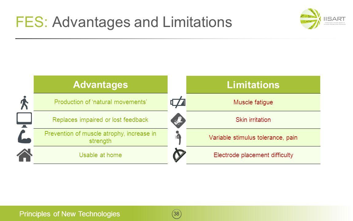 FES: Advantages and Limitations