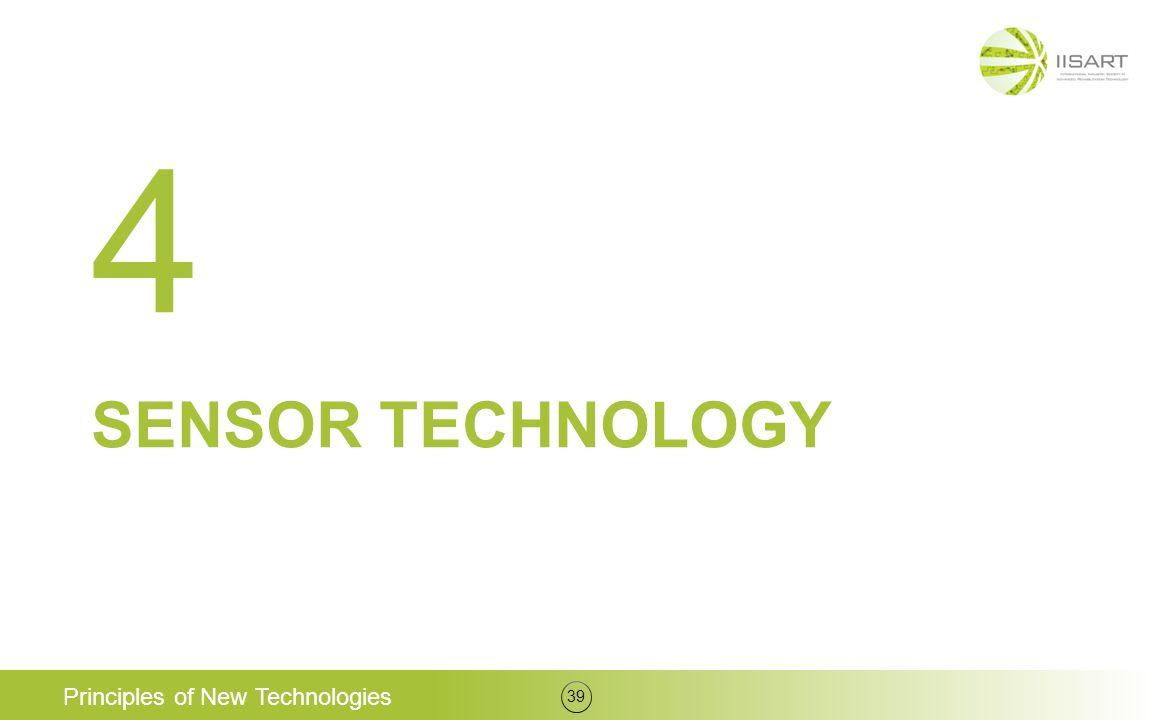 4 Sensor technology Principles of New Technologies