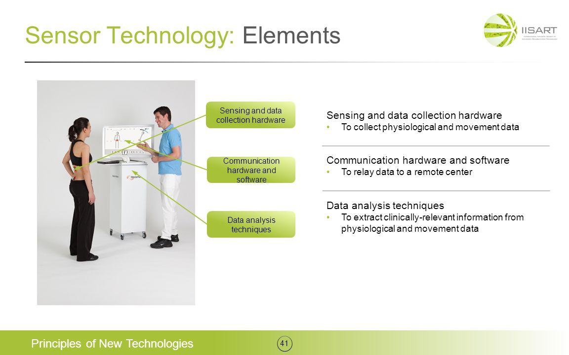 Sensor Technology: Elements
