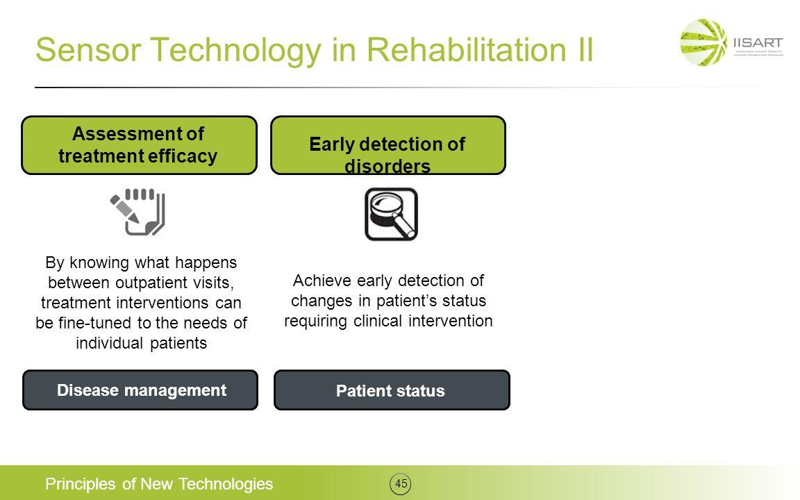 Sensor Technology in Rehabilitation II