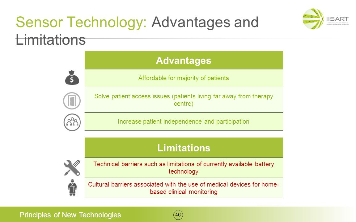 Sensor Technology: Advantages and Limitations