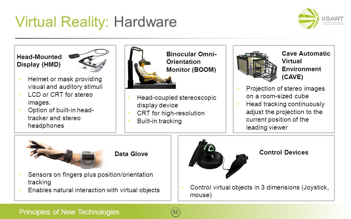 Virtual Reality: Hardware