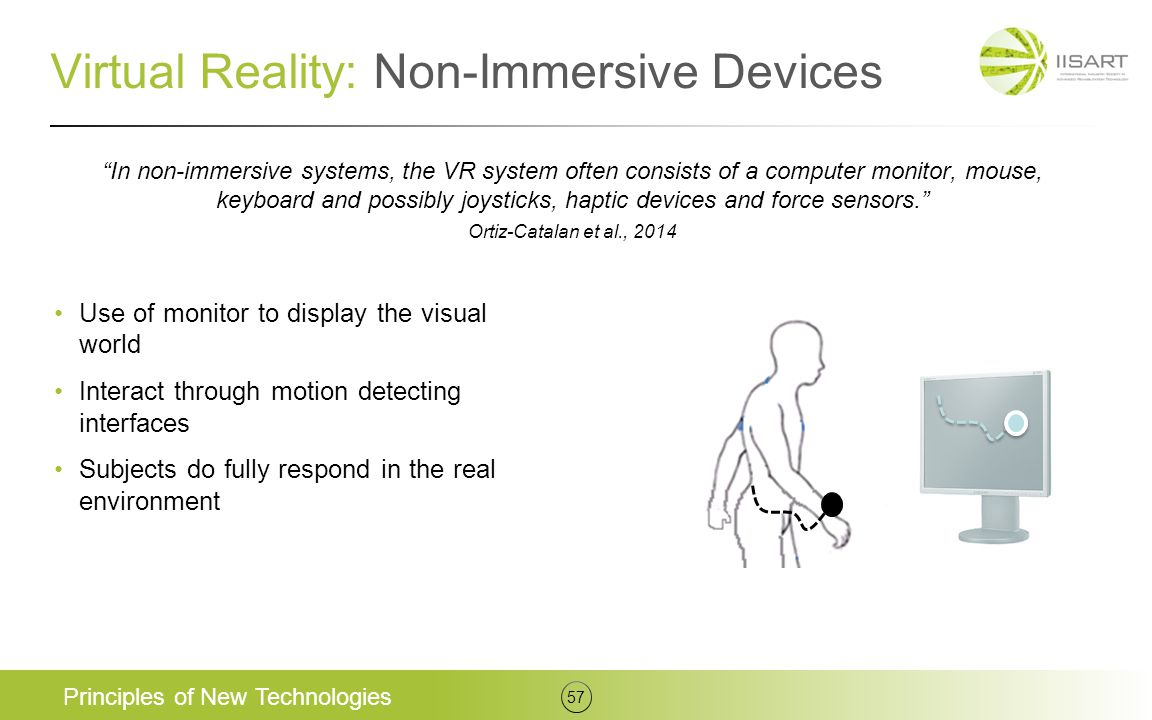 Virtual Reality: Non-Immersive Devices