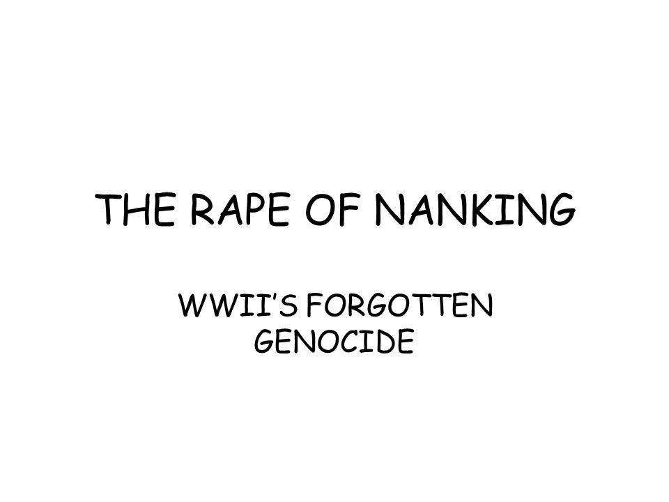 WWII'S FORGOTTEN GENOCIDE
