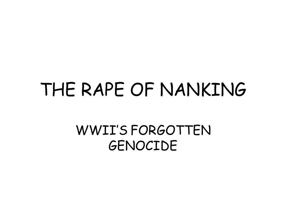 WWII'S FORGOTTEN GENOCIDE