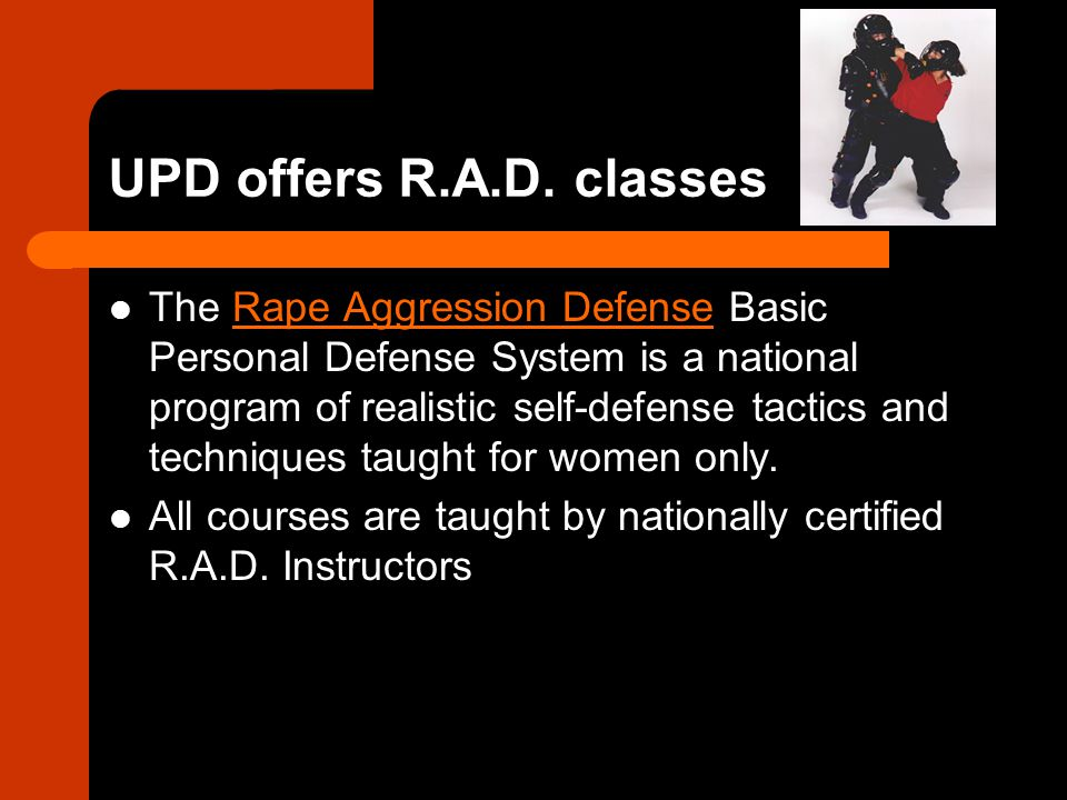 UPD offers R.A.D. classes